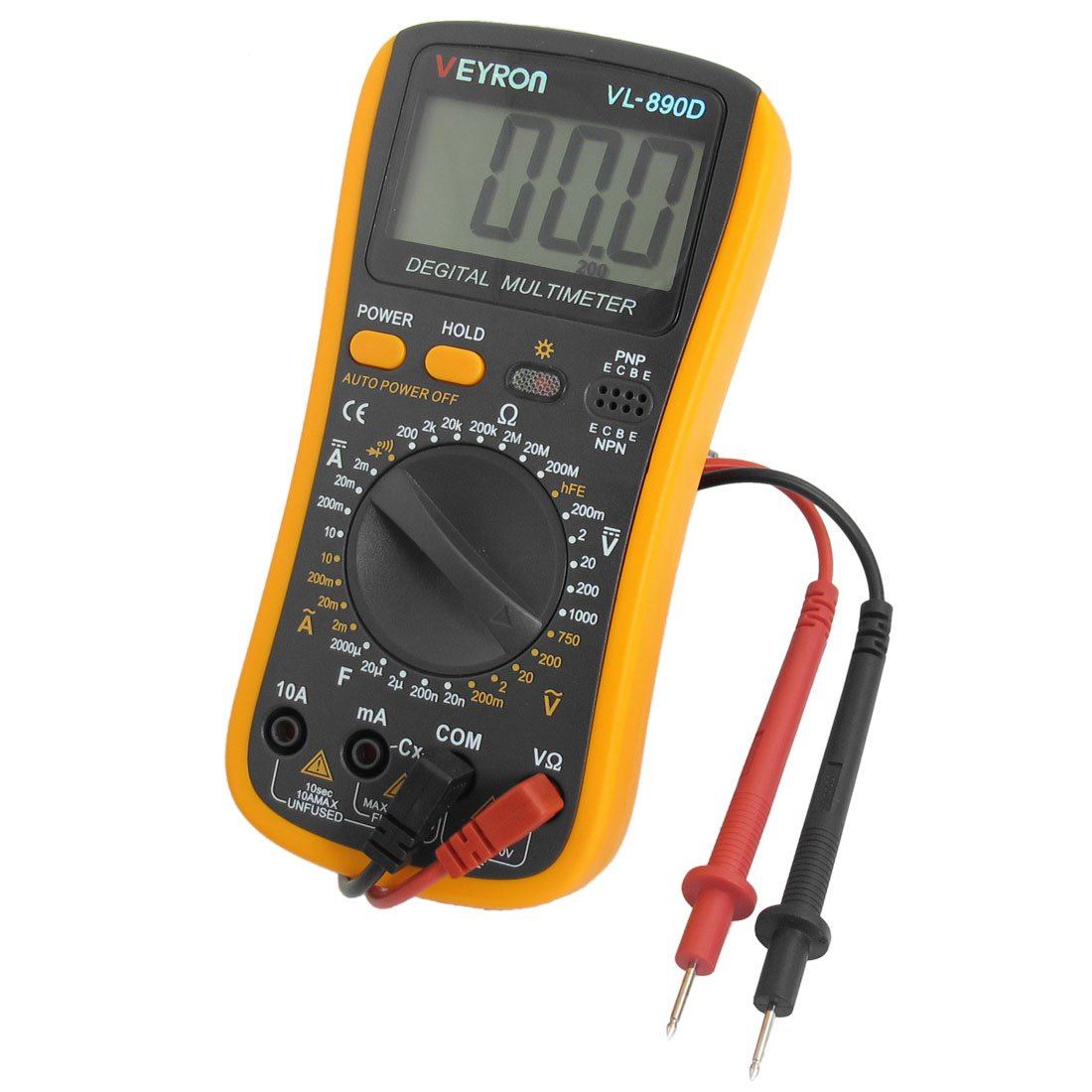 Multimeter Used In Physics Lab : Sunny nf uf capacitance ac dc volt ohm meter