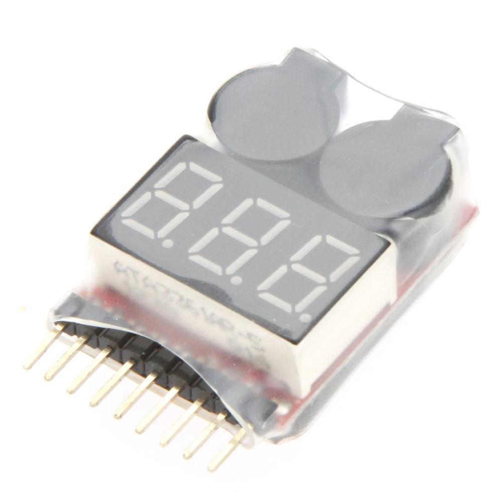 SODIAL R Alarme Avertisseur Testeur Indicateur LED Tension Batterie Lipo 2S-4S RC