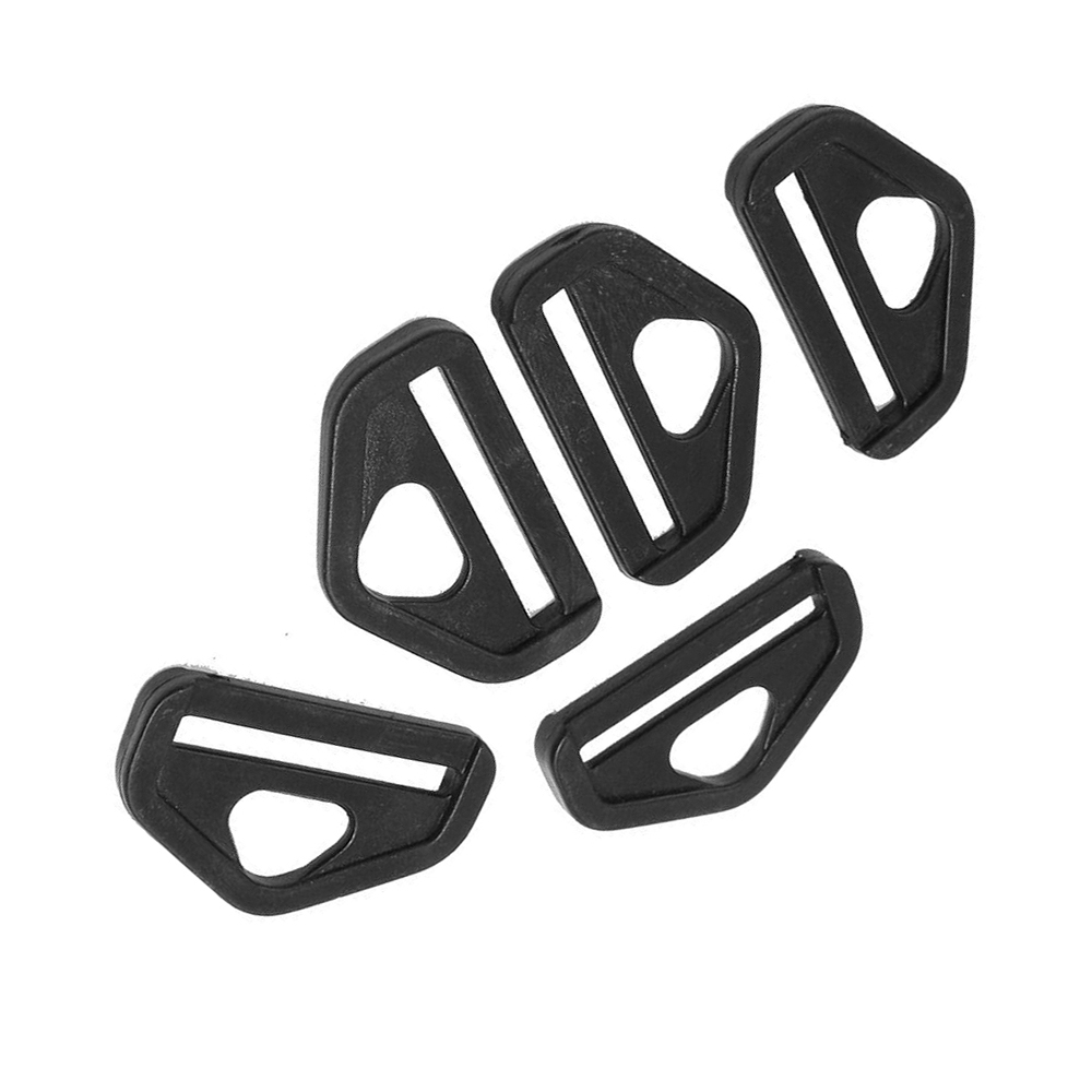 5 pezzi 1 5 ricambio di plastica nera d anello fibbie zaino b6w2 ebay. Black Bedroom Furniture Sets. Home Design Ideas