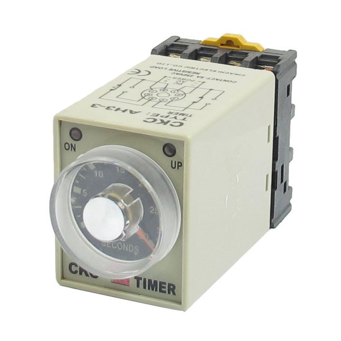 Dc 12v 0 30 seconds 30s electric delay timer timing relay l6 for Electric motor timer control