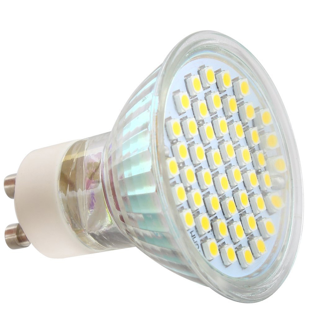 2x 4pcs gu10 4 watts led bulbs spotlights energy saving warm white m3n1. Black Bedroom Furniture Sets. Home Design Ideas