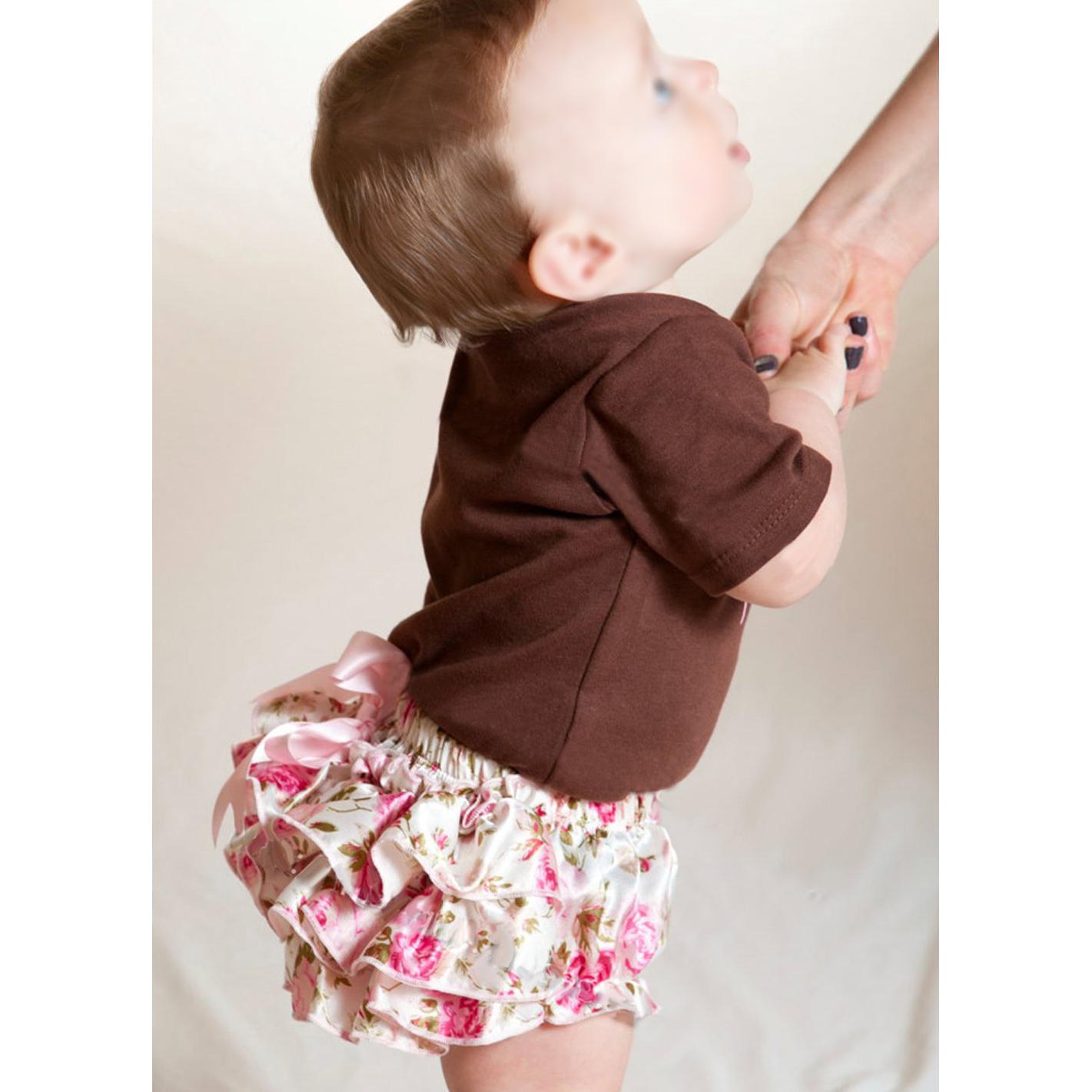 5x baby maedchen rosa bowknot ruesche hose pumphose windel decken s ebay. Black Bedroom Furniture Sets. Home Design Ideas