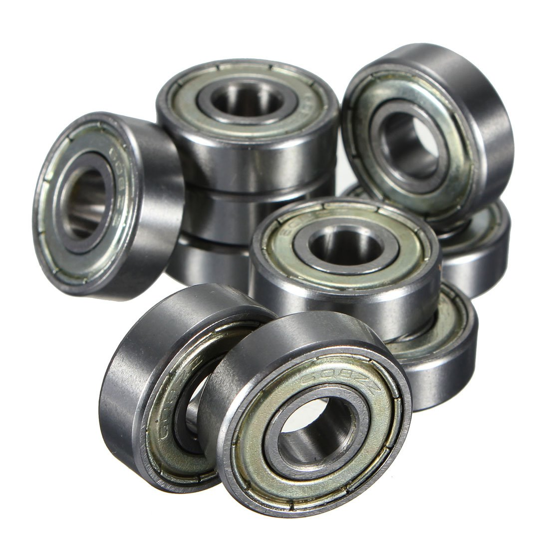 Light Holder 10x Ball Bearings Miniature Deep Groove Ball Bearings 608