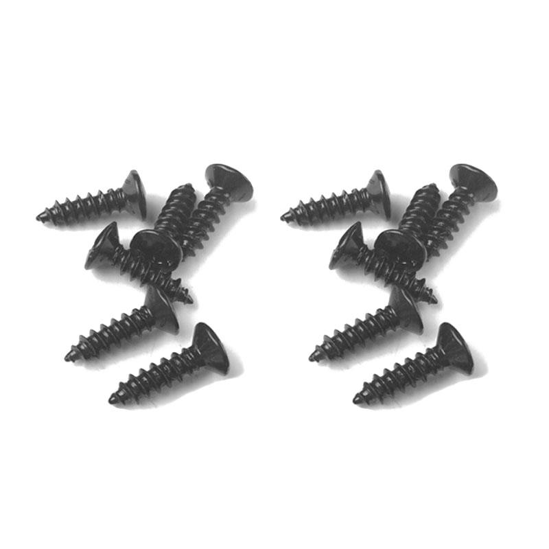 Black Pickguard Screws
