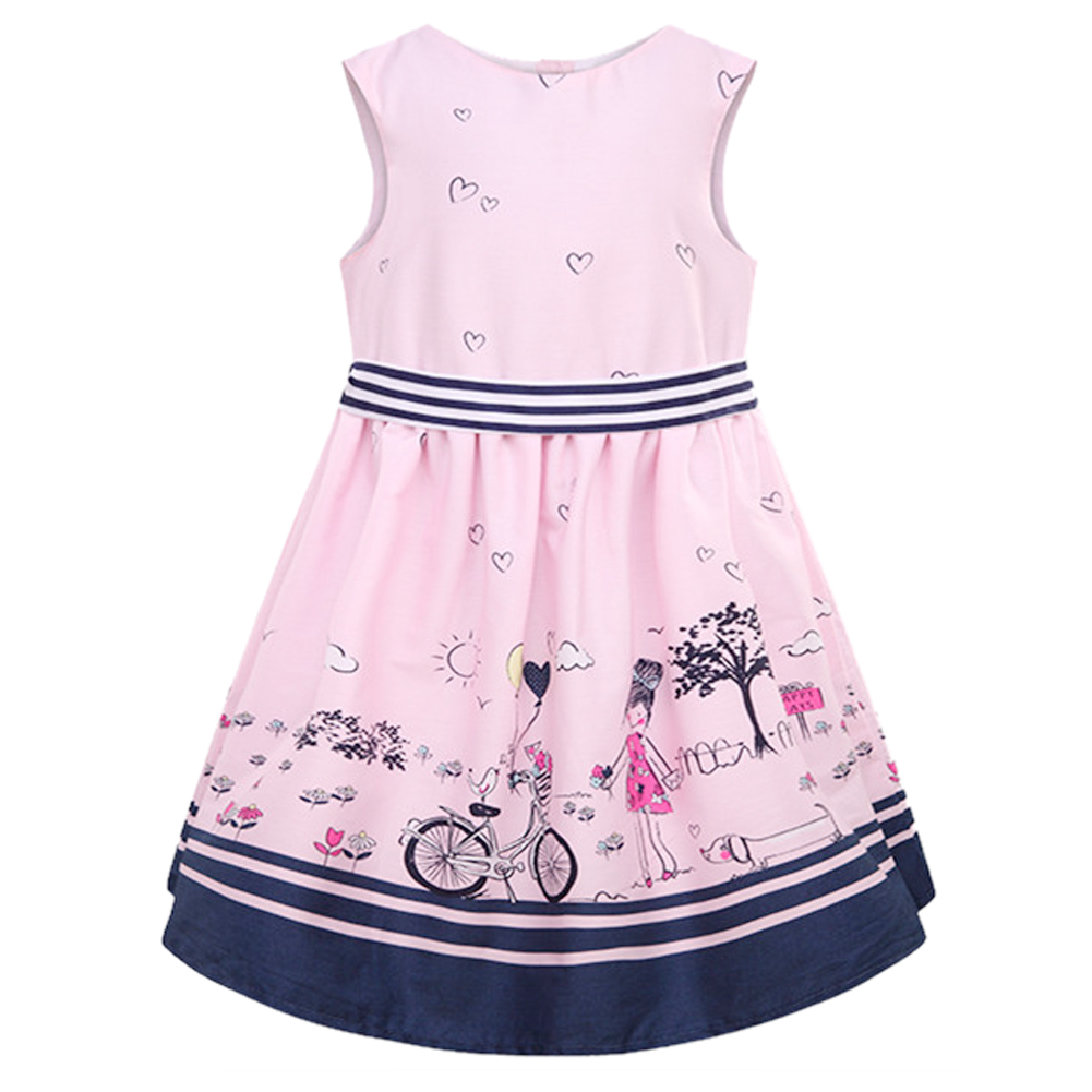 Girl Dress Summer Kids Clothes Children Dress Princess ...