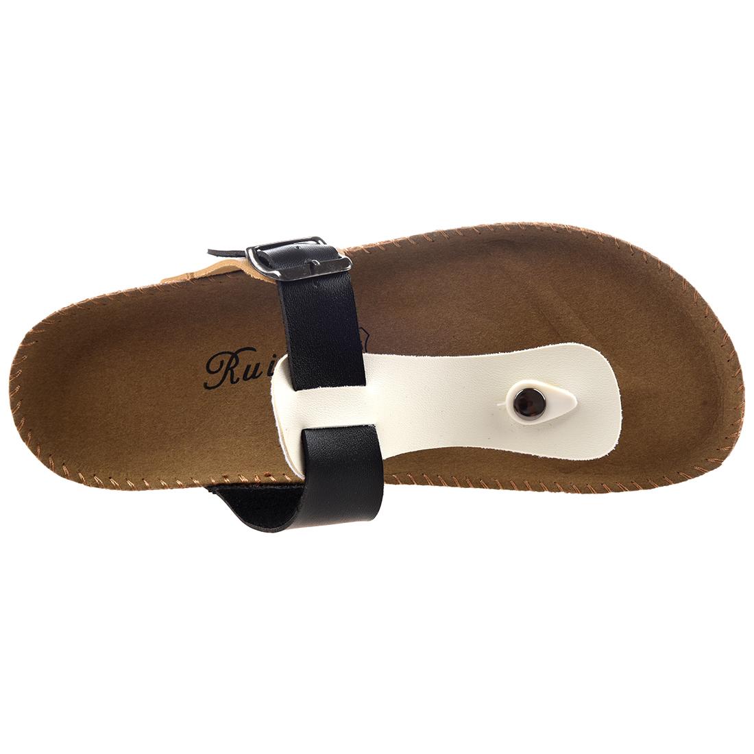 RUIZUU-Chancletas-deportivas-Sandalias-de-playa-Zapatillas-de-Mujer-Hombres-PB miniatura 4