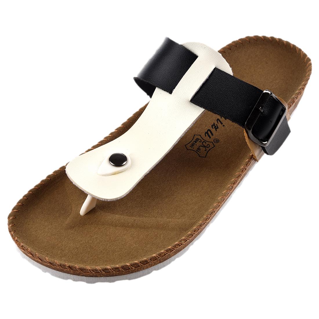 RUIZUU-Chancletas-deportivas-Sandalias-de-playa-Zapatillas-de-Mujer-Hombres-PB miniatura 2