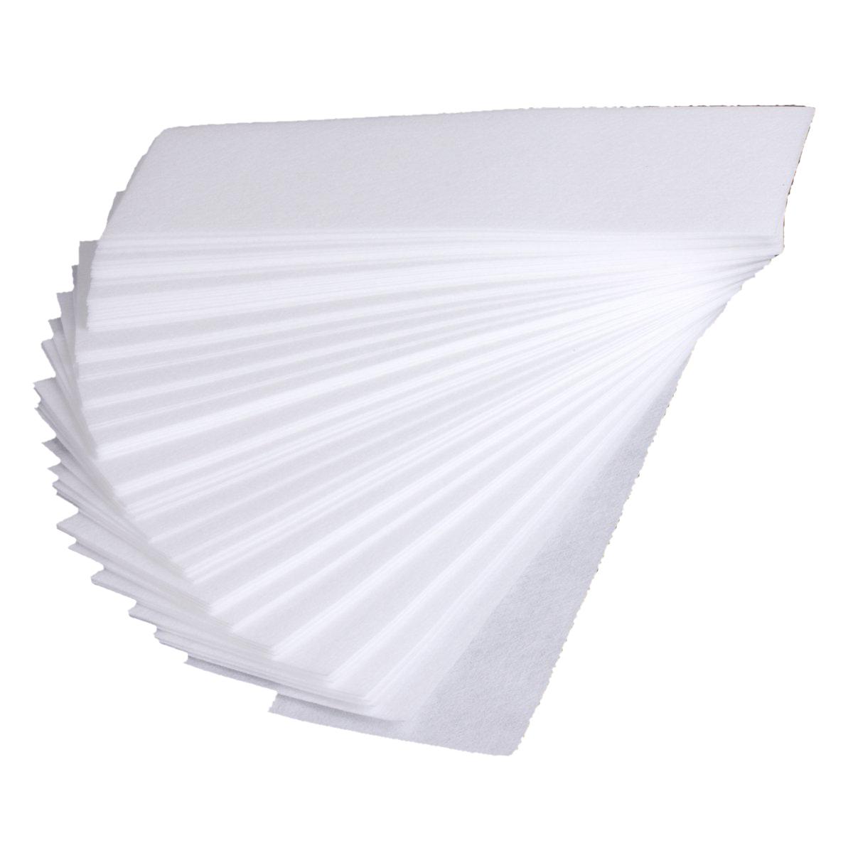 epilation a la jambe bande cire papier de l 39 epilation non tissee blanche 20 7cm ebay. Black Bedroom Furniture Sets. Home Design Ideas