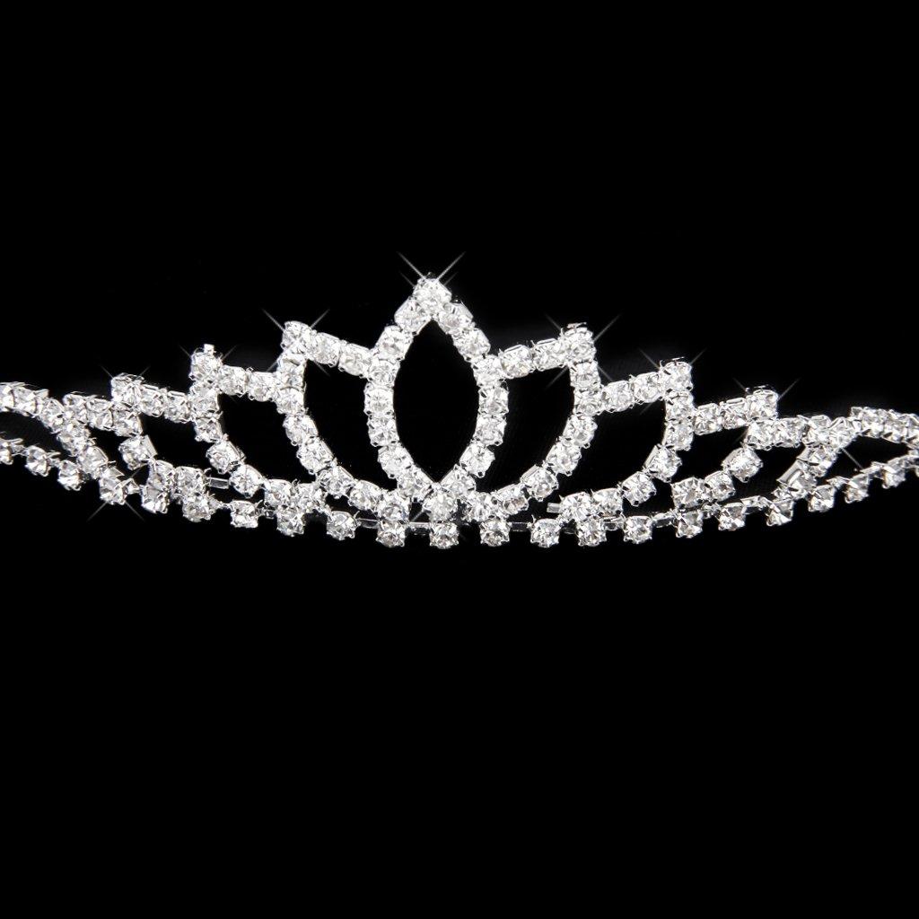wedding women girl rhinestone headband head crown princess jewelry
