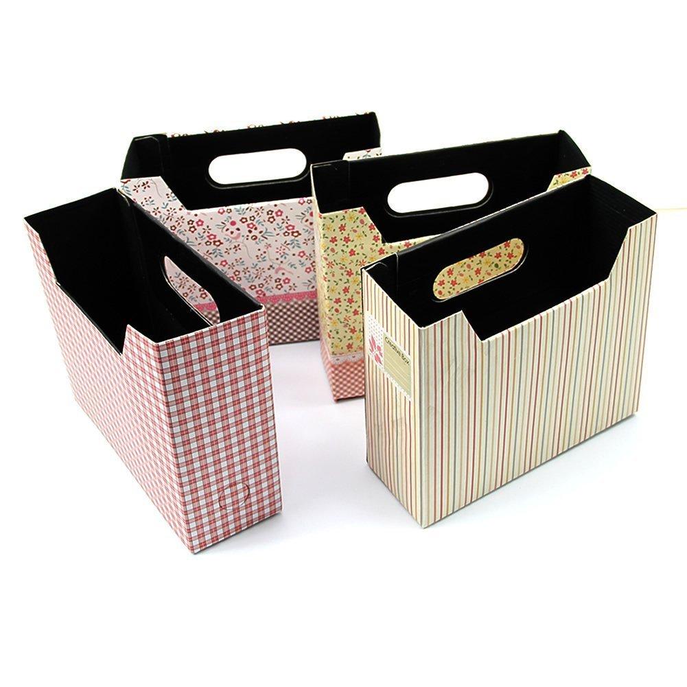2pcs cosmetic stationery diy paper board storage box desk - Decorative desk organizers ...