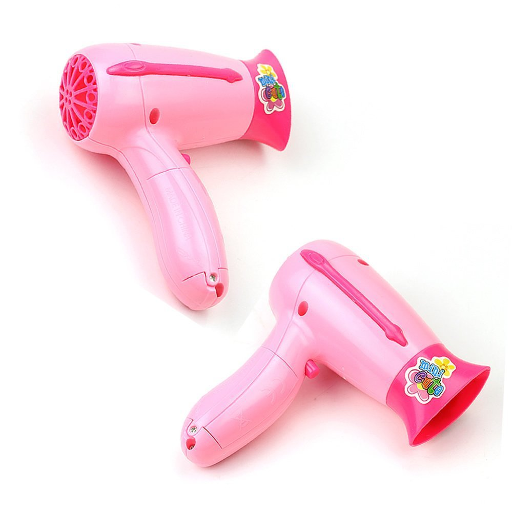 Toys For Hair : Pc kid playhouse toy haircut dryer mirror comb scissors