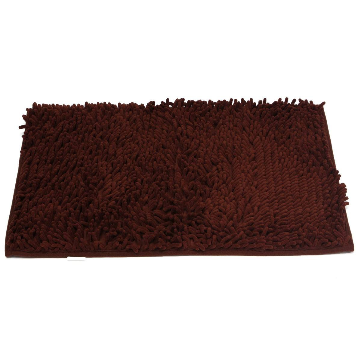 Washable Bathroom Carpet: 1pcs Washable Bathroom New Shaggy Rugs Non Slip Bath Mat