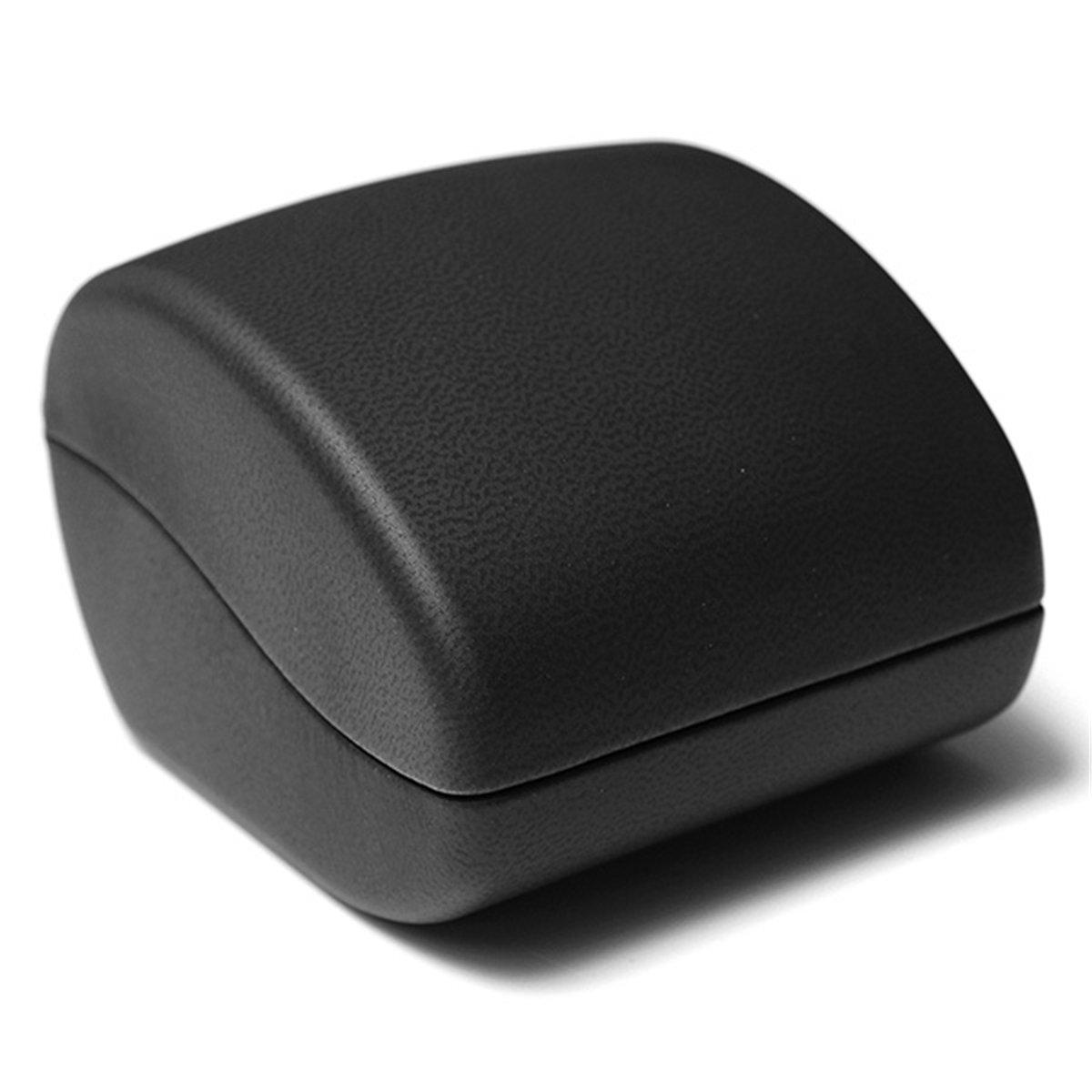 2x ecrin bague boite a bijoux cadeau mariage fiancaille noir y3 ebay. Black Bedroom Furniture Sets. Home Design Ideas