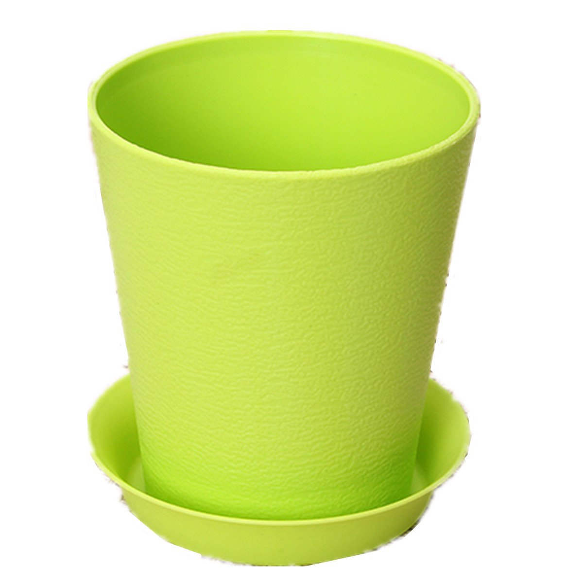 2x Cute Folded Vase Flower Pot Plastic For Home Office
