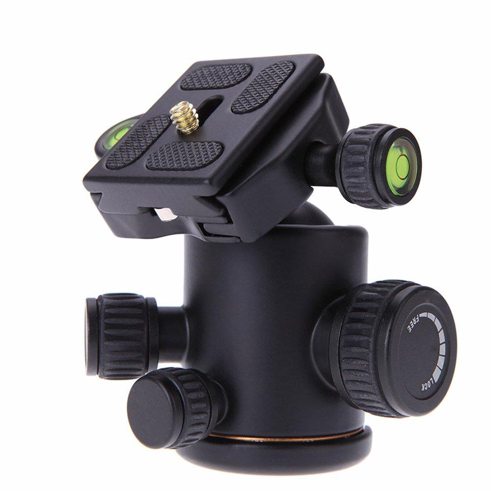 kamera stativ kugelkopf mit schnellwechselplatte fuer dslr kamera stativ gy ebay. Black Bedroom Furniture Sets. Home Design Ideas