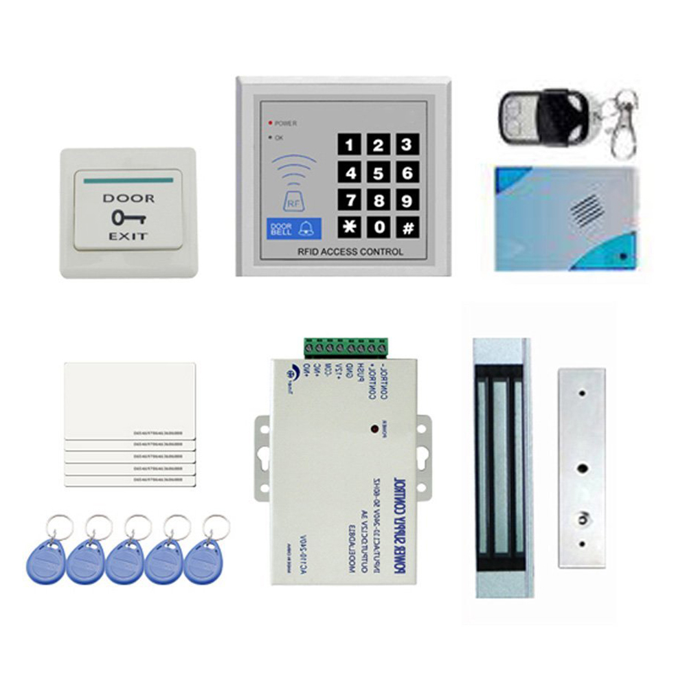 Details about DIY Full Complete RFID Door Access Control Kit Set for Single  Door 180kg/39 T8Y7