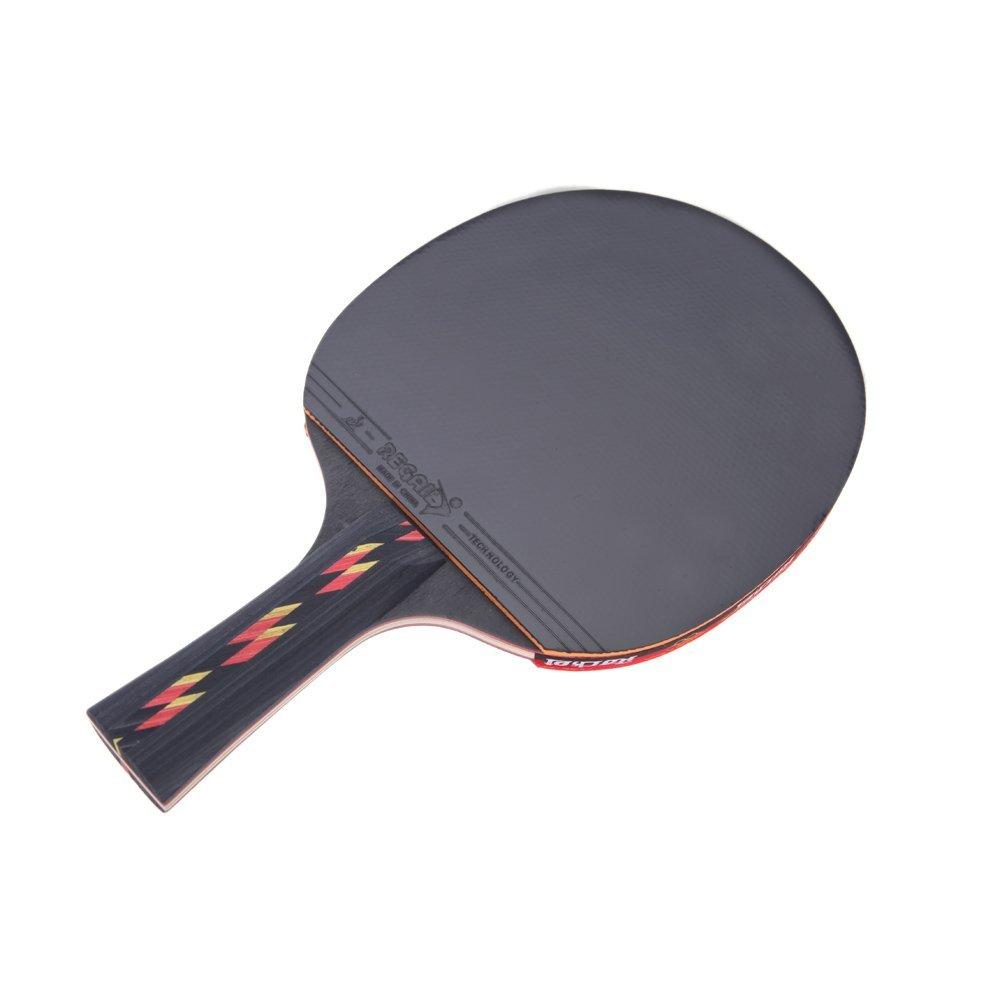 2x regail table tennis racket ping pong paddle bat case for Table tennis 6 0