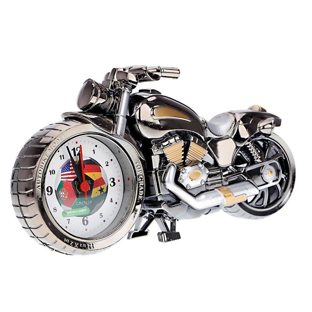 quartz analoge wecker alarm motorrad modell alarm kreativ. Black Bedroom Furniture Sets. Home Design Ideas