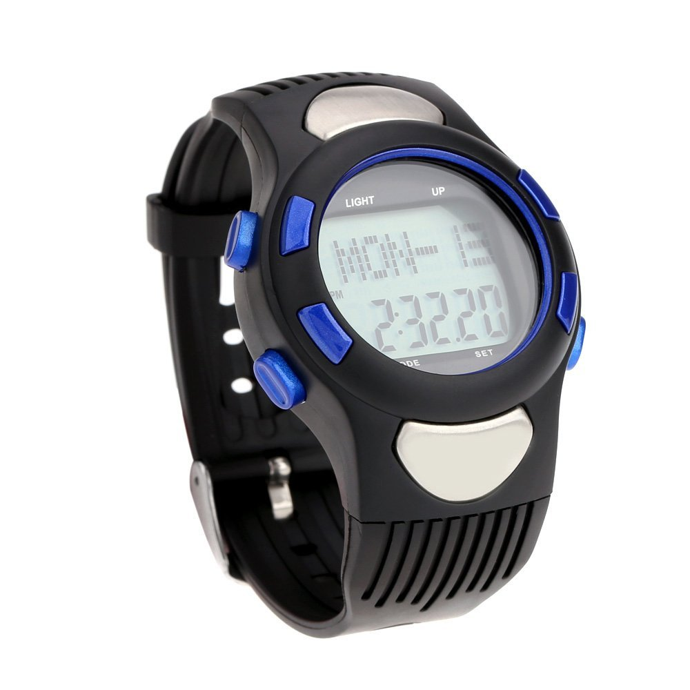 3 ATM Heart Rate Monitor Pulse Watches Waterproof Sport ...