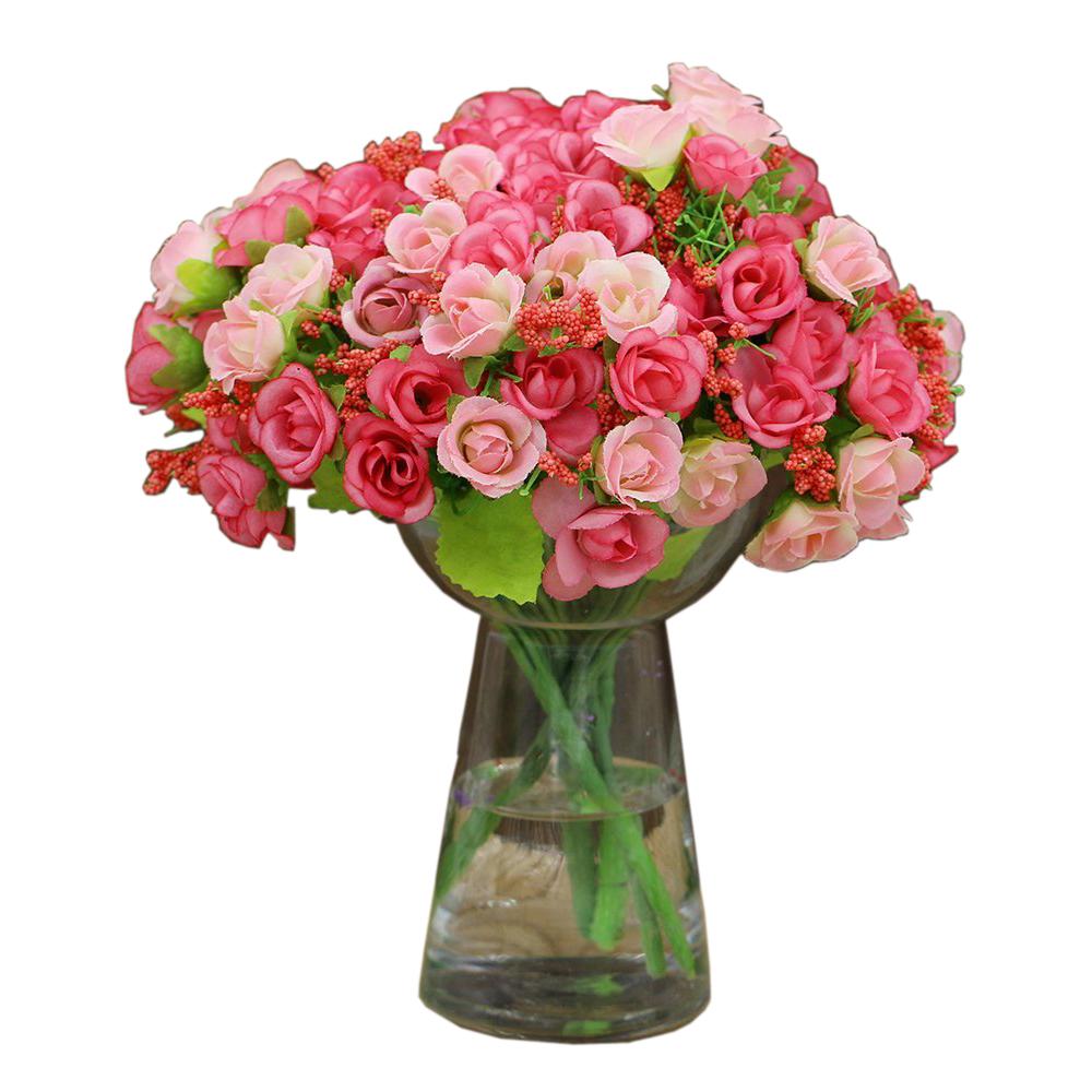 fleur de rose artificielle fleur decorative en soie pour maison mariage parti wt ebay. Black Bedroom Furniture Sets. Home Design Ideas