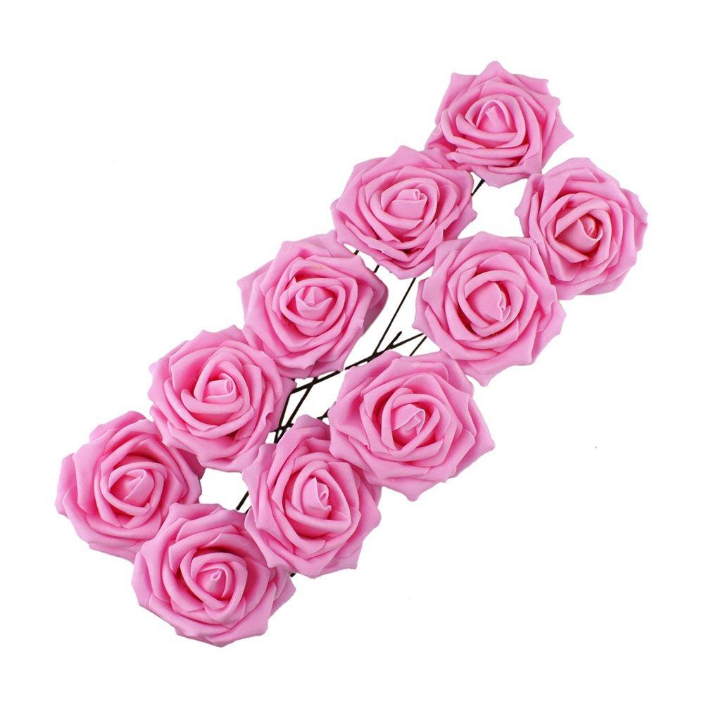 Beaute fleur de rose decoration pour parti mariage fleur pour mariee rose wt - Decoration fleur mariage ...