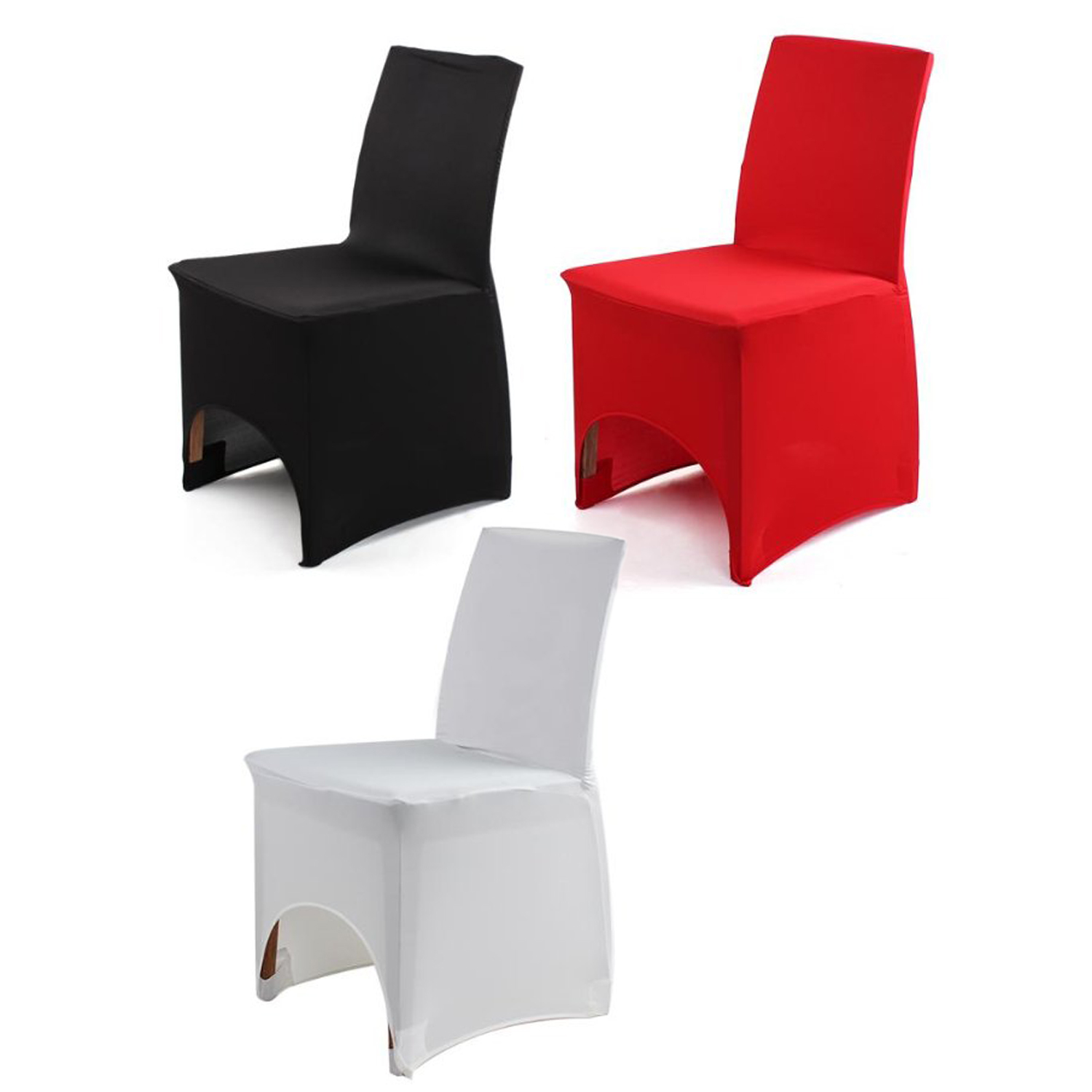housse de chaise en lycra extensible deco mariage anniversaire fete h4p8 ebay. Black Bedroom Furniture Sets. Home Design Ideas