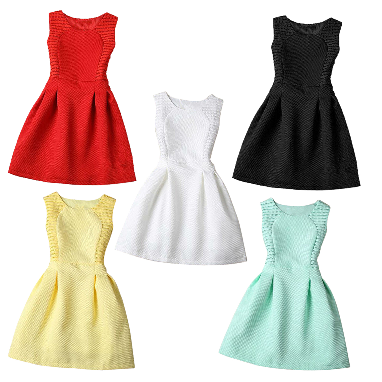 classic fit b21a7 6dfae 1X(Summer donna Dress Mini O-collo senza maniche Slim eleganti abiti corti  V2D8)   eBay