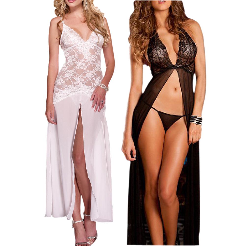 Lenceria larga la noche ropa interior atractiva sexy las mujeres tanga xxl neg ebay - Ropa interior xxl ...