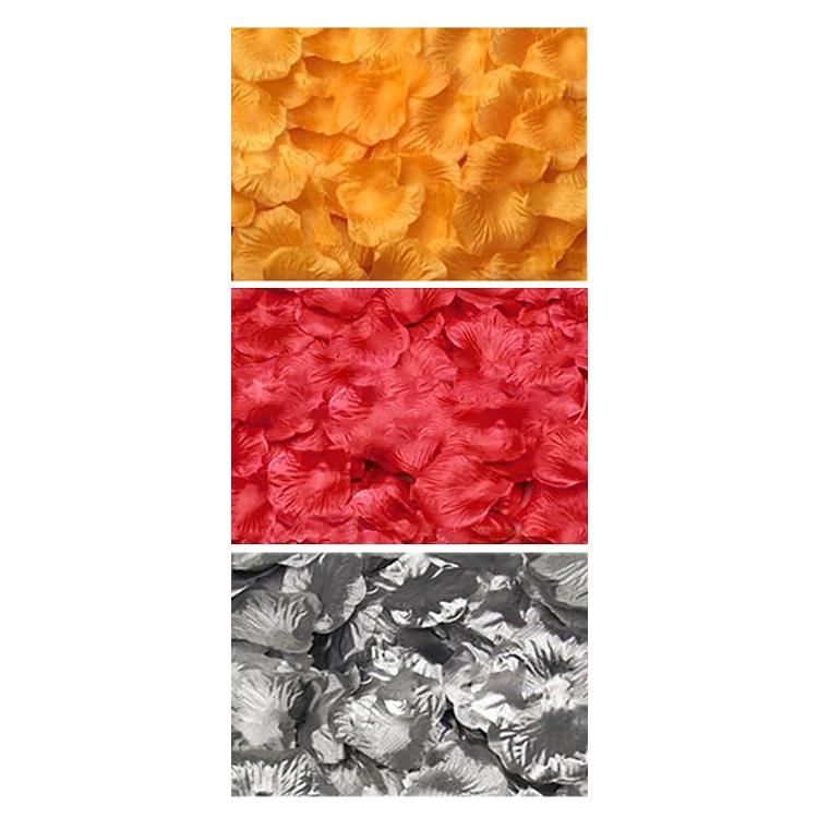 100pzs-Petalos-de-flor-rosa-de-tela-Decoraciones-de-boda-Y8P1