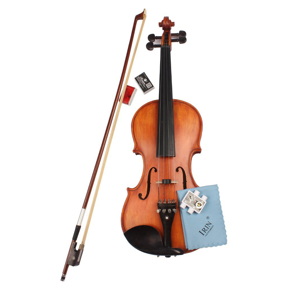 irin 5 in 1 violine zubehoer set kit mit runden violine daempfer bogenharz p7q8 ebay. Black Bedroom Furniture Sets. Home Design Ideas
