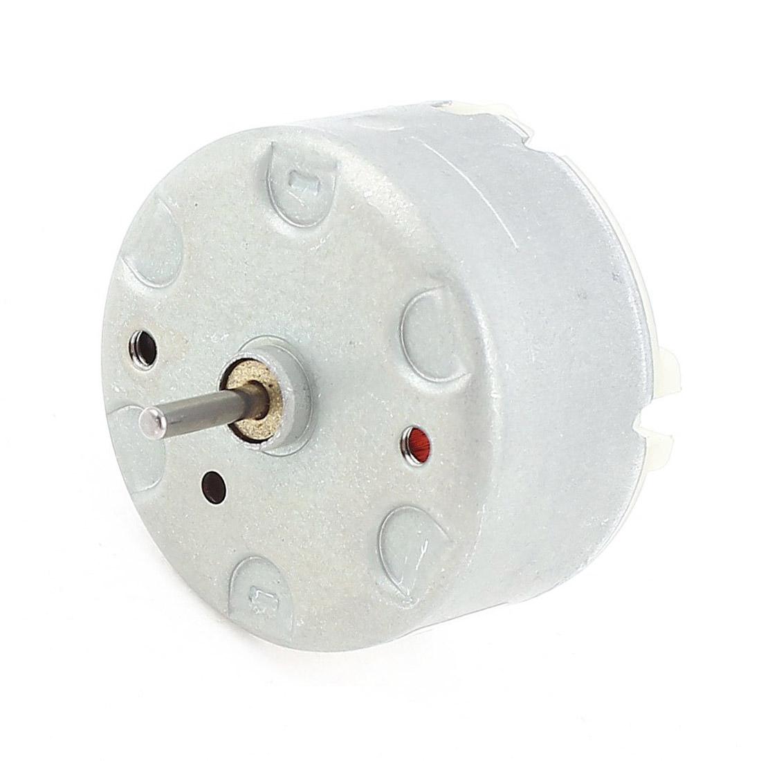 MIN speed 32 mmameter DC silver N A6M3 RF-500 TB-12560 DC 1.5-12 V 2700 U