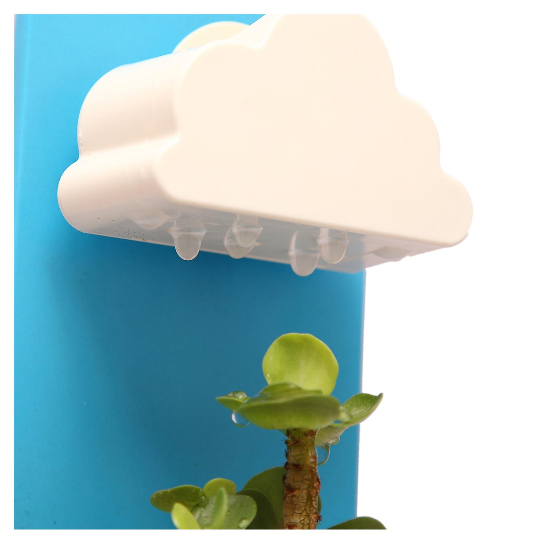 Maceta de diseno de lluvias y nubes de pared en balcon y for Jardin azul canal 9