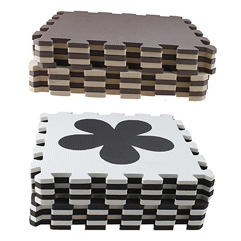 10 stueck eva schaum puzzle gymnastik matte interlocking. Black Bedroom Furniture Sets. Home Design Ideas