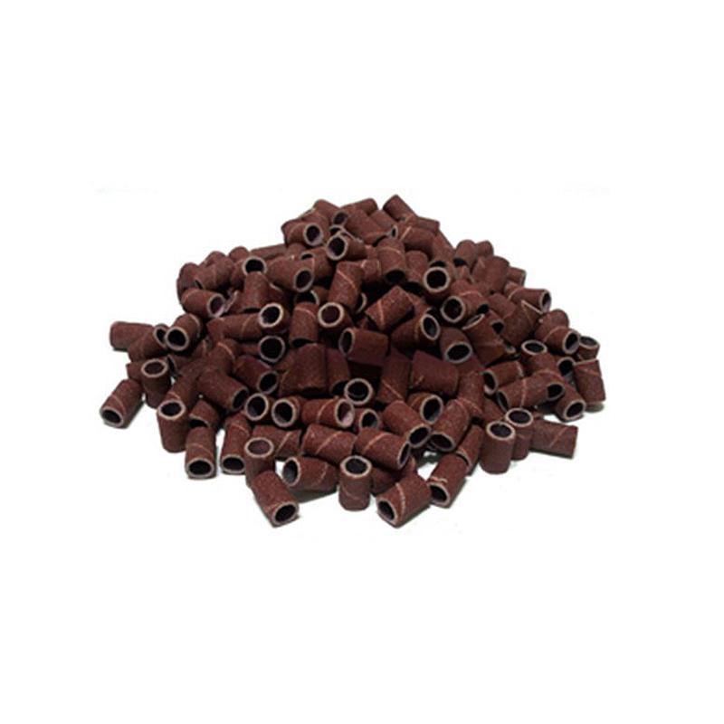 100 piezas pulidor de taladro de unas de unas banda lija - Lija para taladro ...