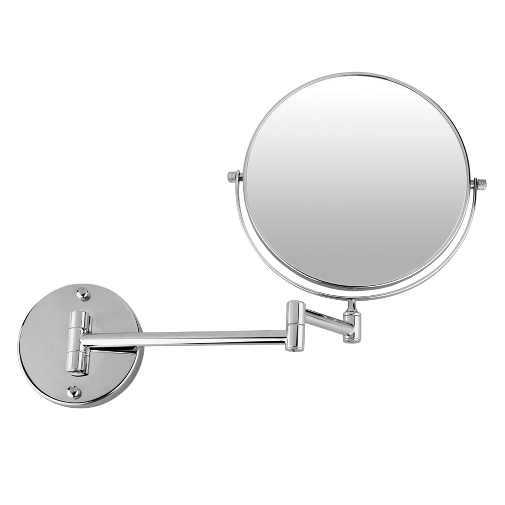 Cosmetic wall mounted make up mirror shaving bathroom - Magnifying wall mirrors for bathroom ...