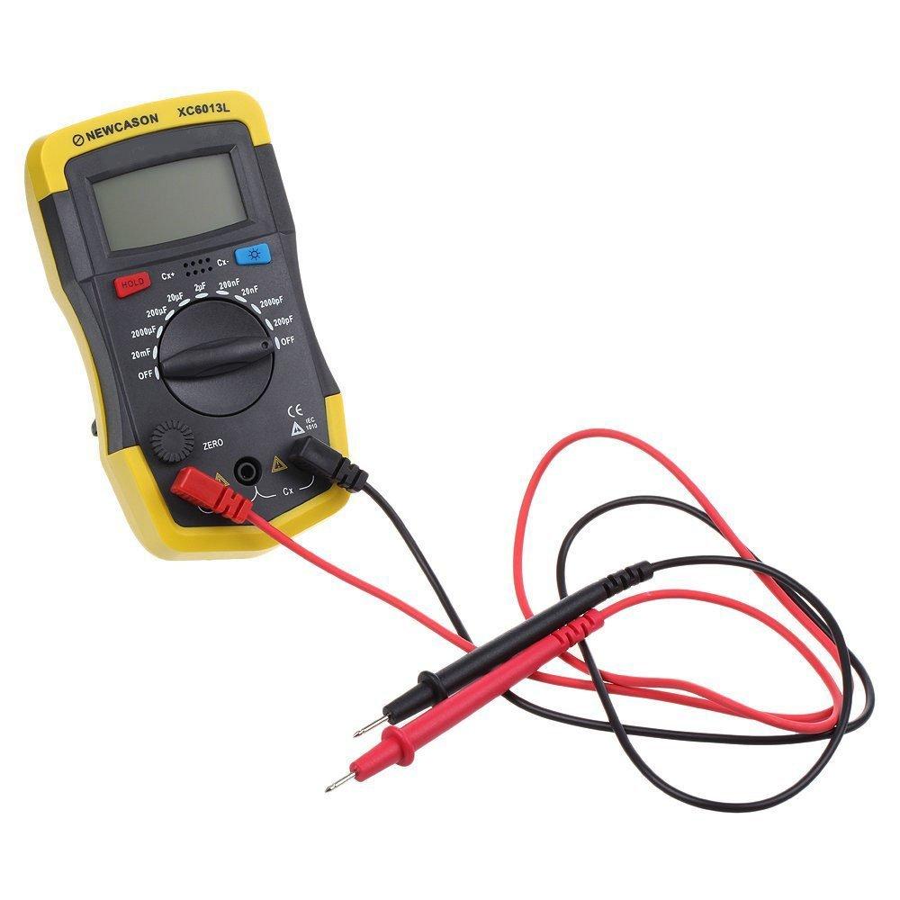 Newcason Lcd Digital Meter Xc6013l Capacitance Capacitor Tester Mf Circuit Uf X2q7 Ebay