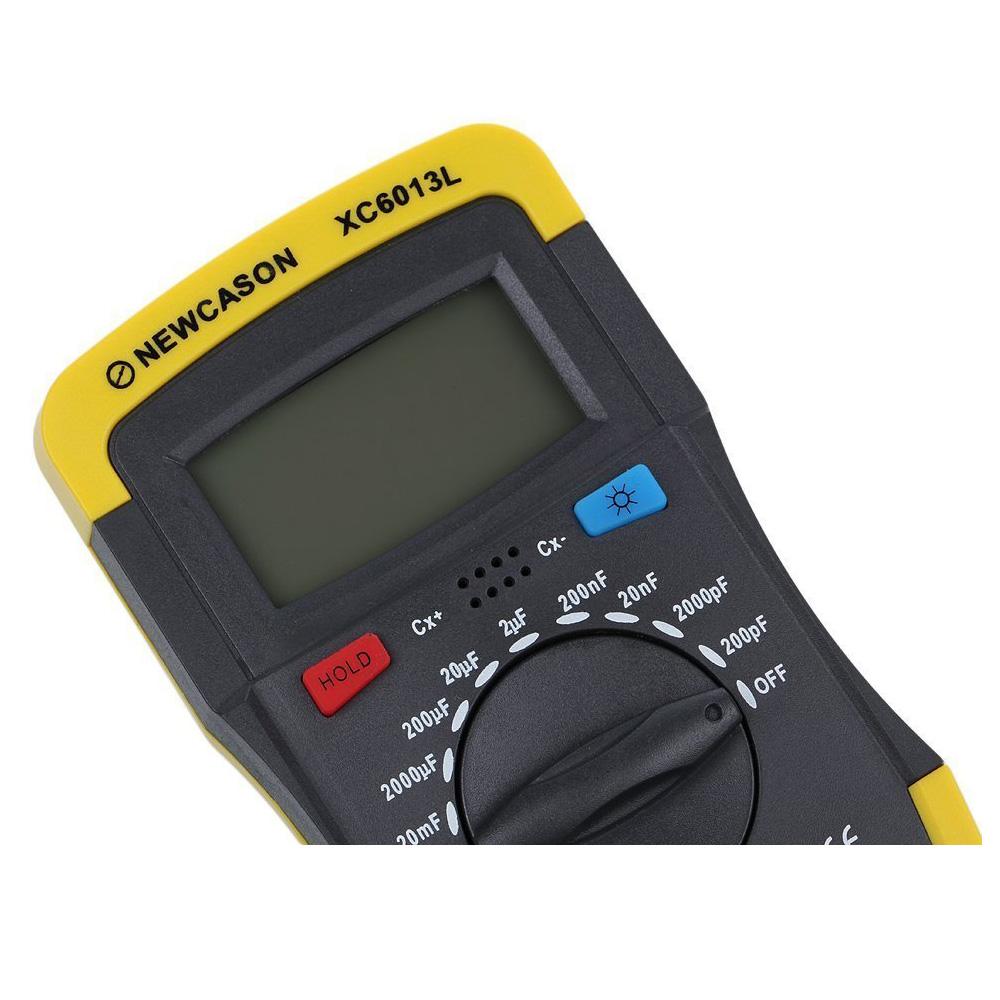 Lcd Digital Meter Xc6013l Capacitance Capacitor Tester Mf Uf Circuit Payment