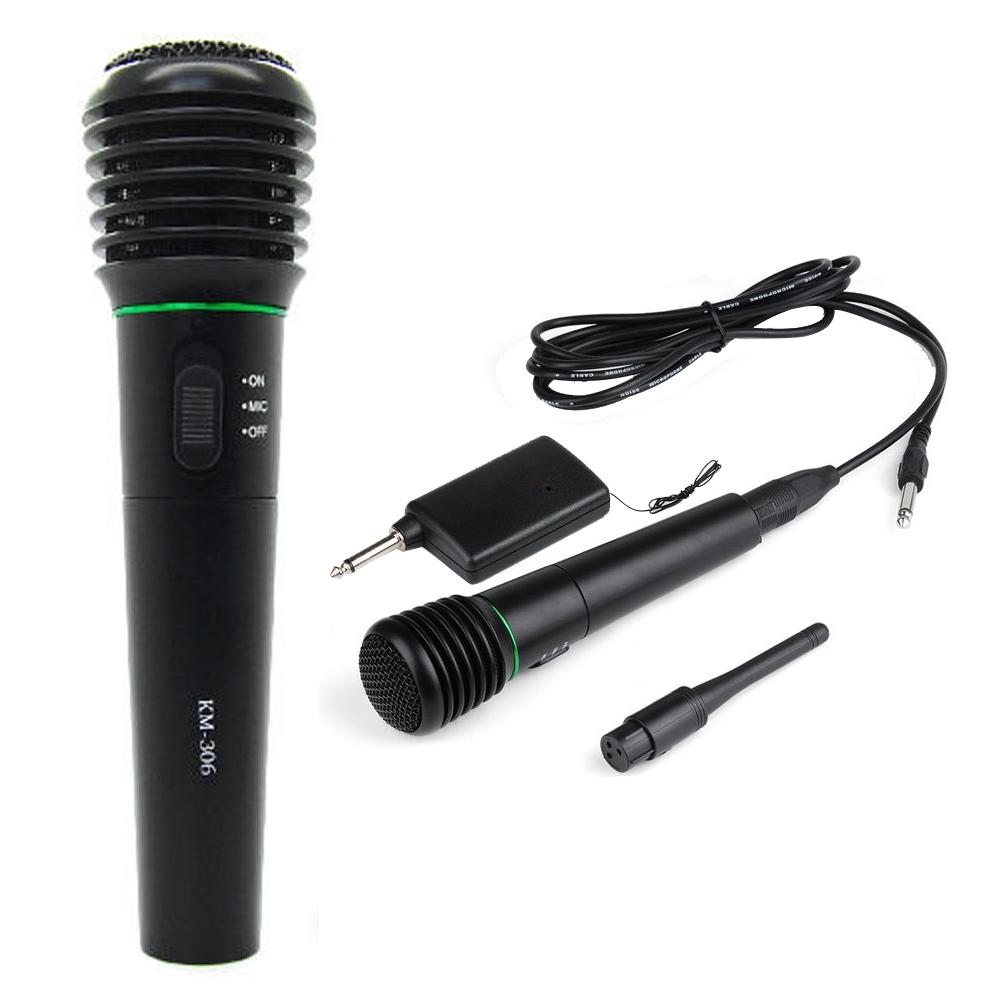 2 in 1 mit und ohne kabel mikrofon hand mikrofonsystem. Black Bedroom Furniture Sets. Home Design Ideas
