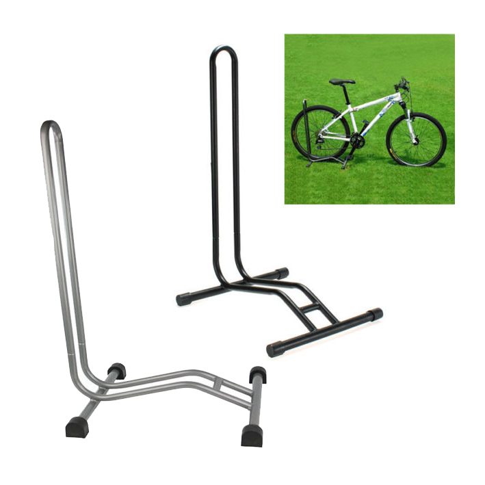 Sport cyclisme velo bicyclette support de velo au sol garage stockage r3l7 ebay - Support velo sol ...