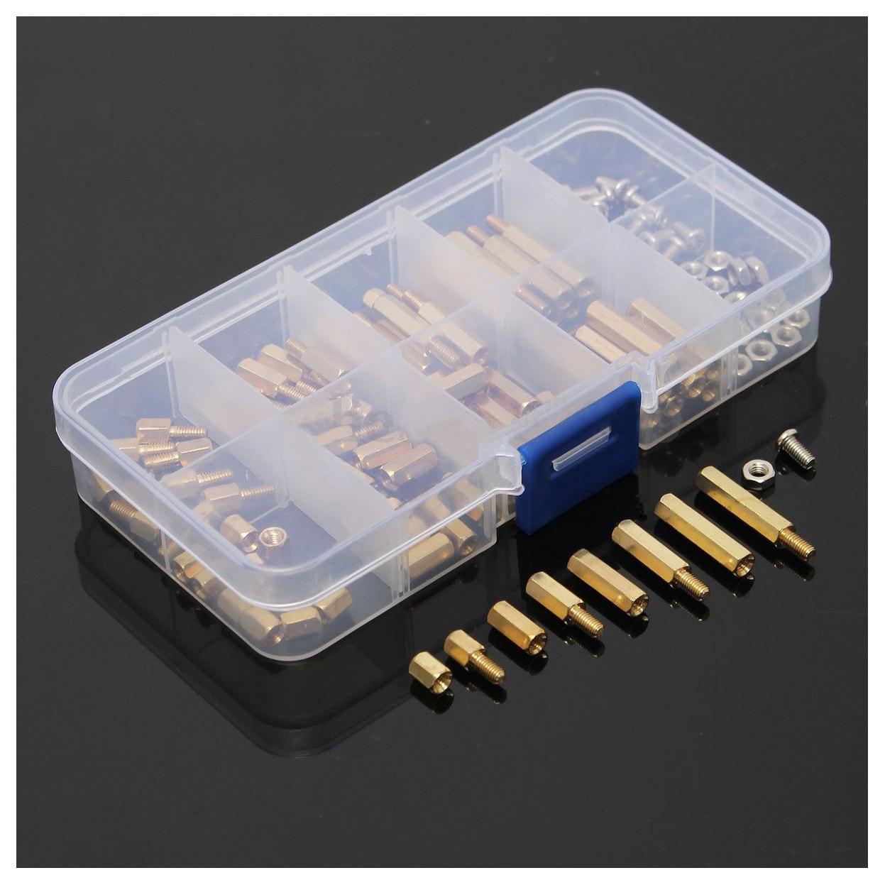 120pcs m3 male female brass standoff spacer pcb board hex screws nut rh ebay com