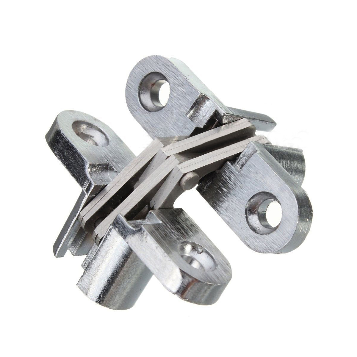 zinc kitchen cabinets f1240 2pcs hinge stainless steel invisible hinges 1240