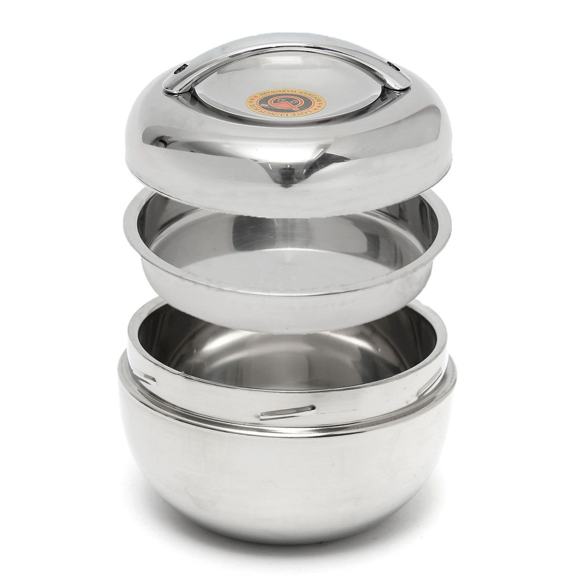 Stainless Steel Insulation : Generic stainless steel bento food container thermal