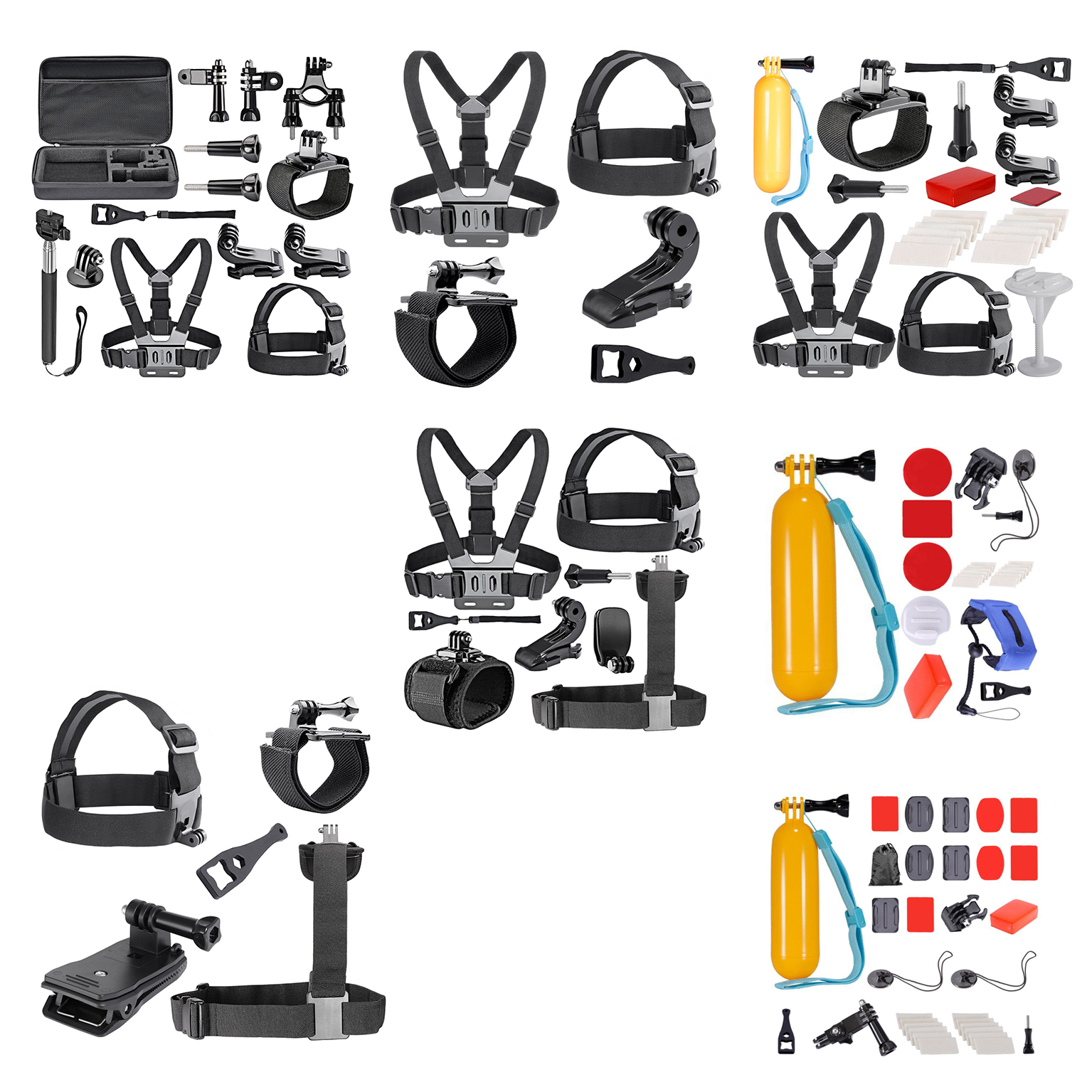 21-in-1 game External sports indispensable accessories for Gopro HD Hero4 H C2N3