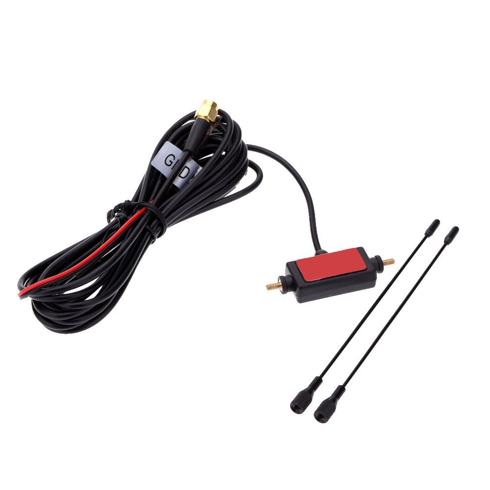 Digital Cable Signal Amplifier : In car radio digital tv antenna with amplifier dvb t isdb