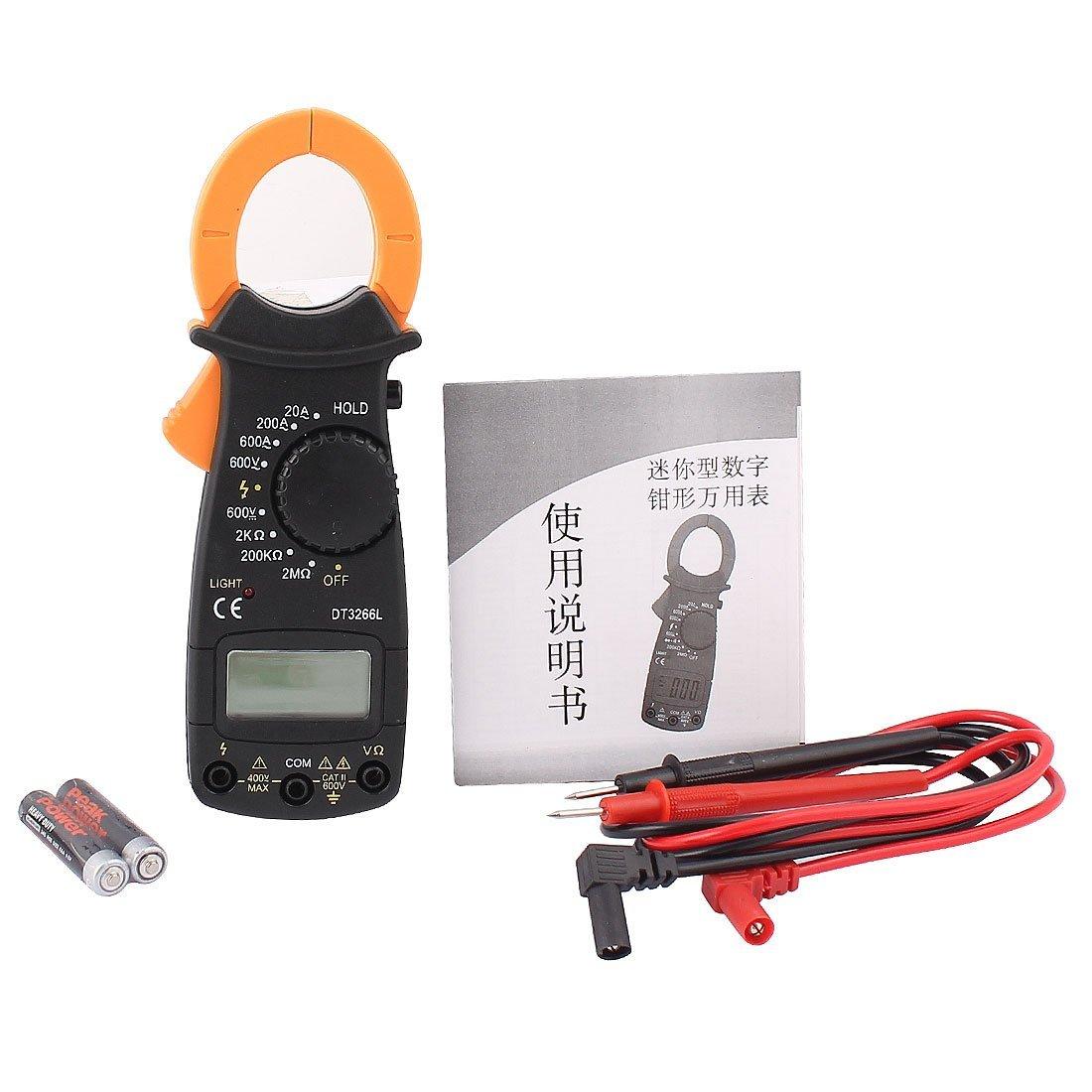Fie Digital Clamp Meter : Digital clamp meter for v fire protection f ebay