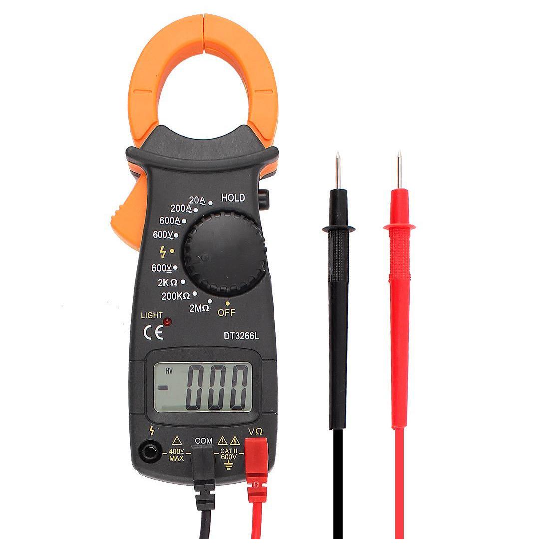 Fie Digital Clamp Meter : Digital clamp meter for v fire protection d ebay