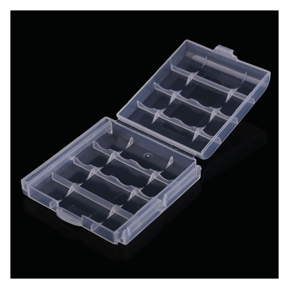10x plastic case holder storage box cover for rechargeable. Black Bedroom Furniture Sets. Home Design Ideas