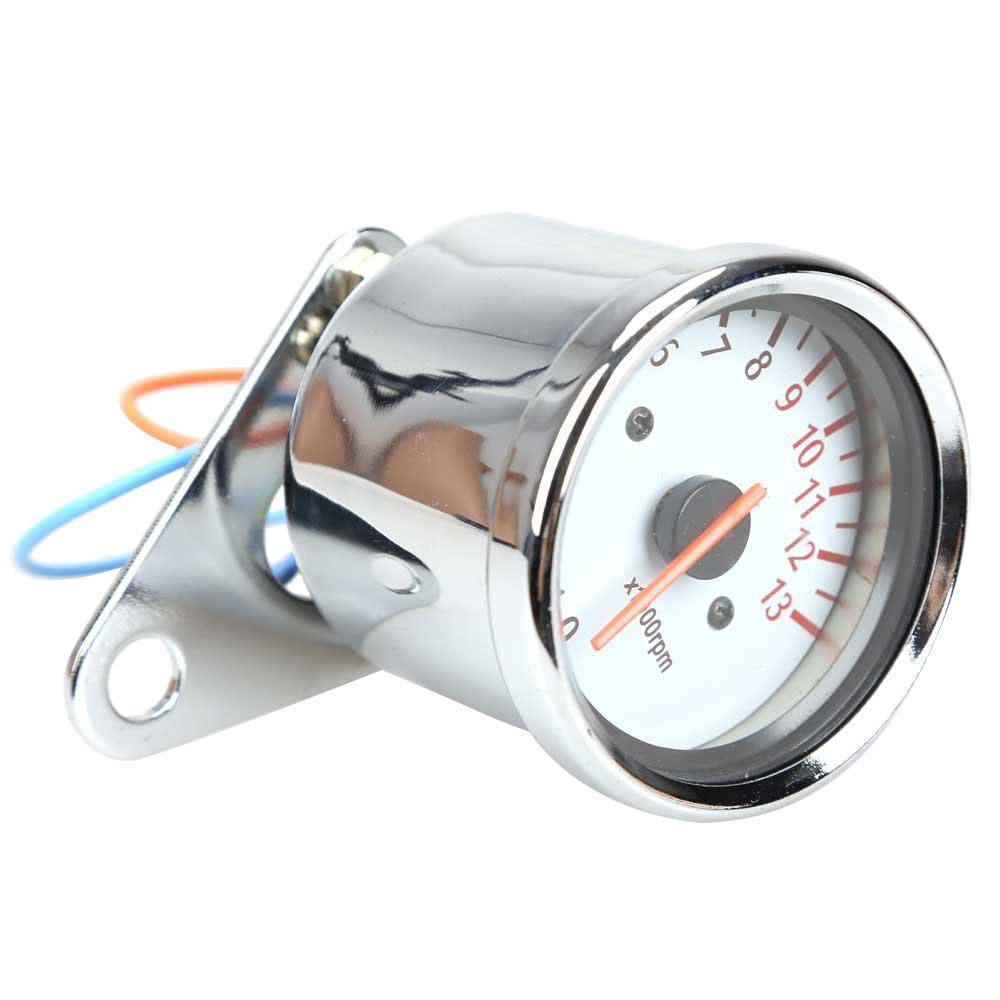 universal motorrad roller 13000 rpm analog tachometer. Black Bedroom Furniture Sets. Home Design Ideas