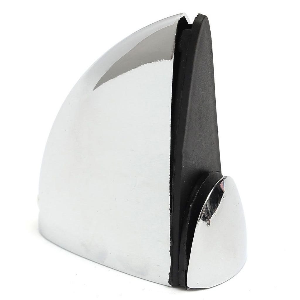 4 x support de tablette de verre chrome poli de salle de for Support de salle de bain