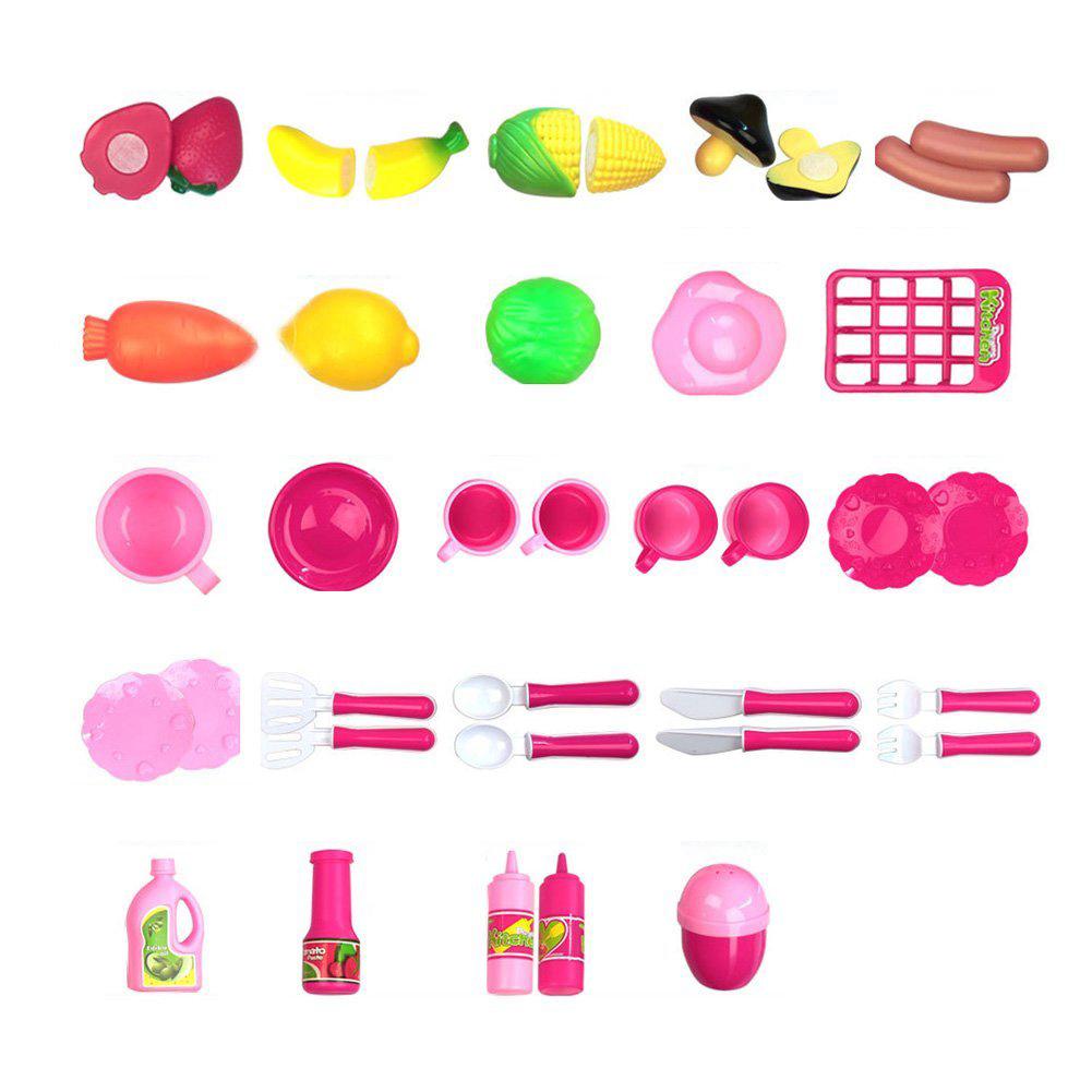 40pcs jeu jouet de cuisine aliments cuisson role jouer - Jeu de cuisine pour filles ...